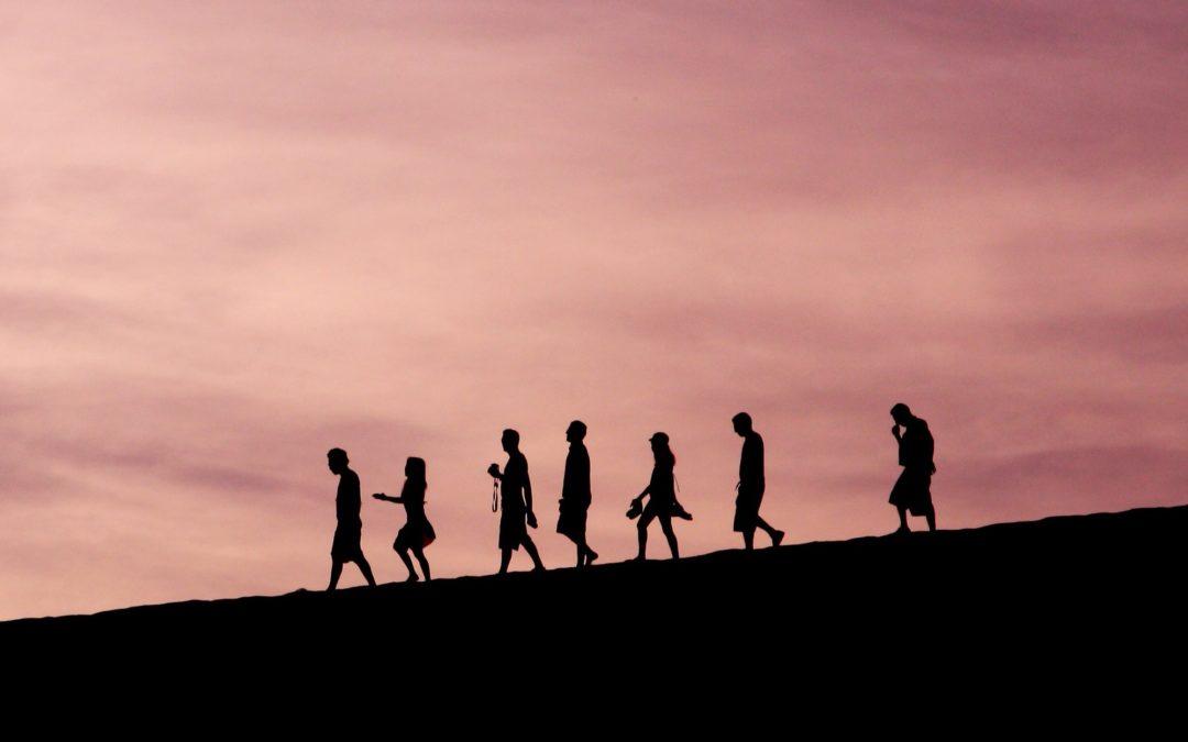 Le mouvement permanent de la vie dans un groupe